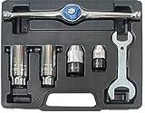 BGS 1984   Juego de herramientas con carraca para machos y terrajas   6 piezas