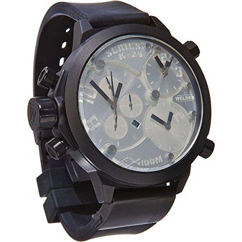 Welder Men's K-29 Series Triple-Time Zone Chronograph Watch - 8000