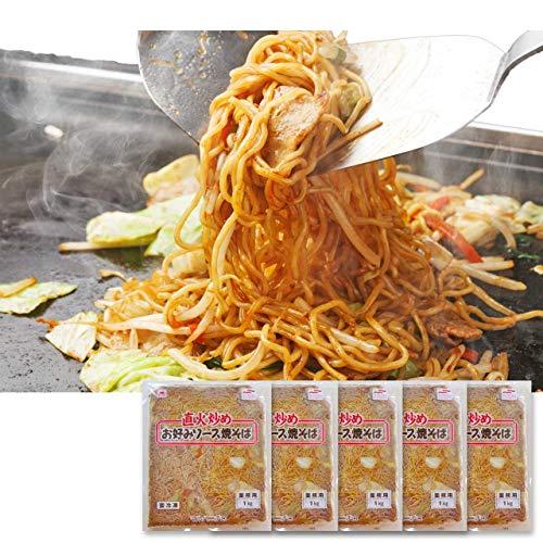 イカ屋荘三郎 業務用 こってりソース焼きそば 1kg入 ×5袋 お取り寄せ ギフト ヤマキ食品