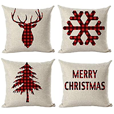 christmas pillowcase covers
