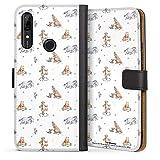 DeinDesign Étui Compatible avec Huawei P Smart Z Étui Folio Étui magnétique Winnie l'ourson...