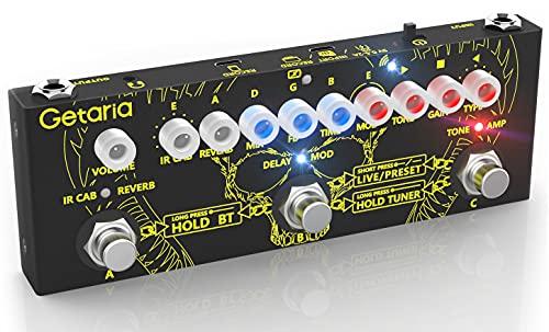 Getaria Pedal de efectos para guitarra eléctrica, pedal de...