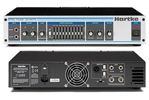 Hartke HA2500 Bass Amplifier (250 Watt)