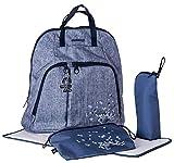 okiedog TREK 37013 sac à dos à langer incl. accessoires URBAN, jeans