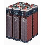 Batería Solar Estacionaria 2V 150-226Ah TAB 3 OPzS 6 unds | Instalaciones Fotovoltaicas | + 20 Años Vida Útil