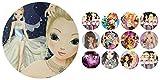 Tortenaufleger + 12 x Muffinaufleger Tortenfoto Aufleger Foto Bild TopModel (Glamour1+ mix1) *NEU*OVP*