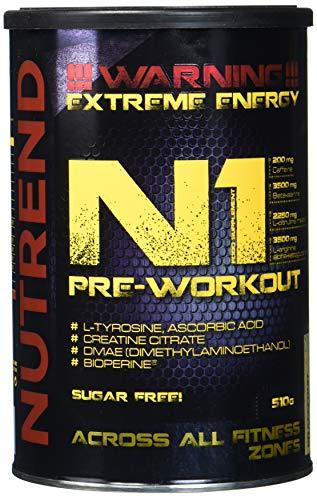 NUTREND N1 Pre Workout Grejpfruit, 510 g