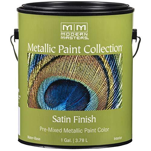 Modern Masters ME221-GAL Metallic Paint, Warm Silver