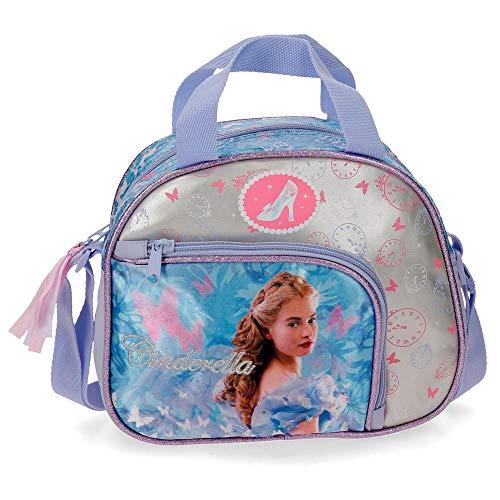 Disney Princesas Cinderella Neceser Adaptable con Bandolera Multicolor 23x19x10 cms...