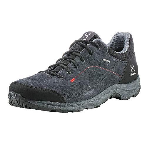 Haglöfs Krusa GT Zapatillas de Senderismo, Hombre, Negro (Magnetite/True Black 2cx), 46 EU (11 UK)