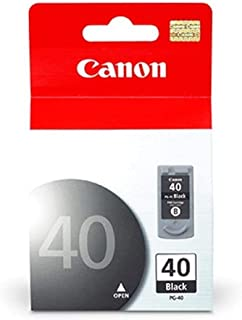 CARTUCHO CANON PG-40 JATO DE TINTA PRETO 16ML - PG-40, Canon, PG-40, Preto