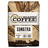 Fresh Roasted Coffee LLC, Sumatra Mandheling Coffee, Medium Roast, Low Acidity, Whole Bean, 5 Pound Bag