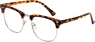 New Vintage Fashion Half Frame Semi-Rimless Clear Lens Glasses …
