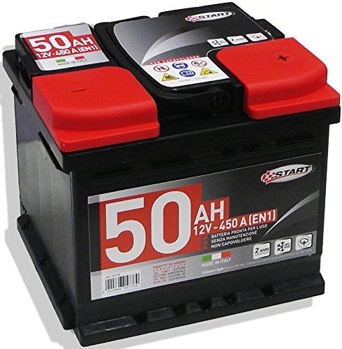 Batteria Auto 50AH 12V 450A polo positivo destro Casetta L1