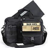Dad Diaper Bag, Changing Pad, Stroller Straps,...