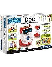 Clementoni 66837 Coding Lab Robot Doc, Rood, Franse Versie