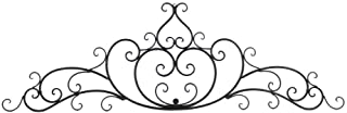 Collectible Badges Decorative Wrought Iron Metal Wall Plaque, One Size, Bronze