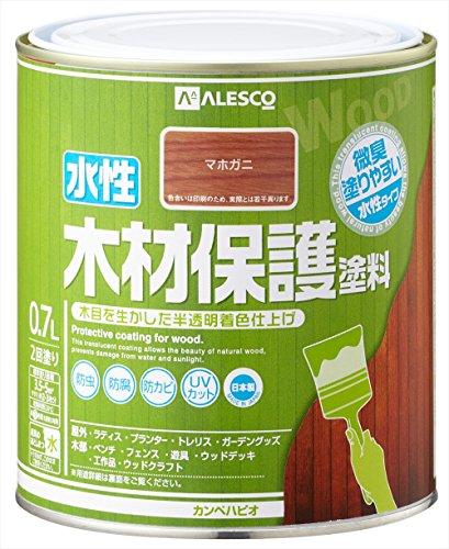 カンペハピオ 水性木材保護塗料 0.7L マホガニー