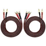Best Speaker Cable With Banana Plugs - HiFi OFC Speaker Wire with Spade Plug to Review