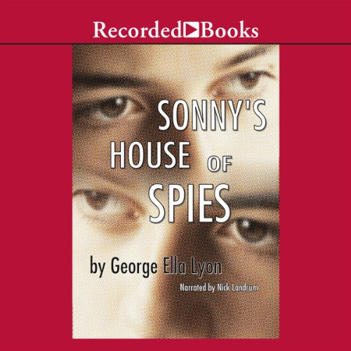 Sonny's House of Spies audiobook cover art
