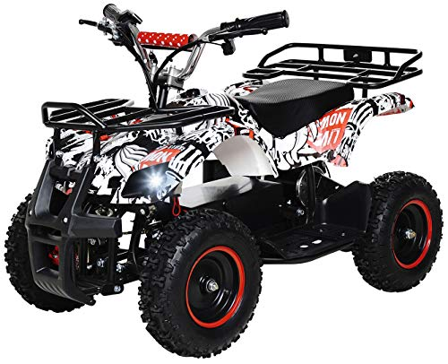 Actionbikes Motors ATV Torino 800 Watt 36 Volt - Freni a disco - Safety Touch System interrutto