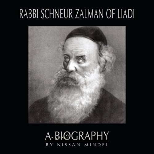 Rabbi Schneur Zalman of Liadi audiobook cover art