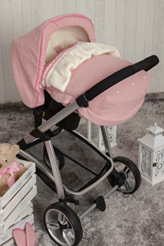 Babyline Caricias Schlafsack, Gruppe 0, Rosa