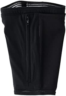 Enroute Deluxe Travel Leg Safe Wallet Hidden Underclothing Security Under Pants Money Belt Pouch, Slide On Black