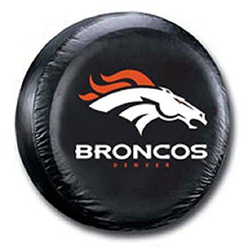 Fremont Die Denver Broncos Black Spare Tire Cover