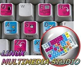 NEW LINUX MM STUDIO KEYBOARD STICKERS