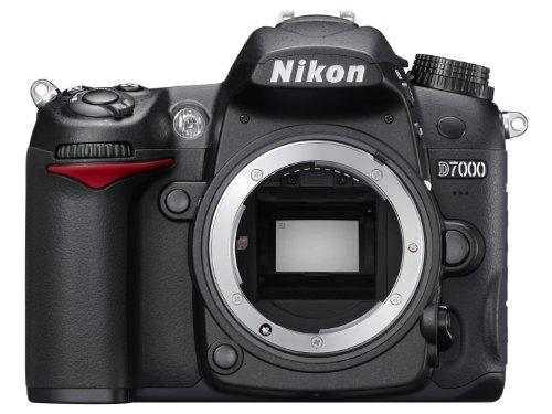Nikon D7000 SLR-Digitalkamera (16 Megapixel, 39 AF-Punkte, LiveView, Full-HD-Video) schwarz