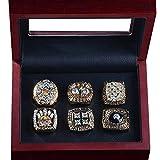 YF Champion Ring Fan High-End Collection Ring Fans Anillo de Decoración de RegaloOro, 12