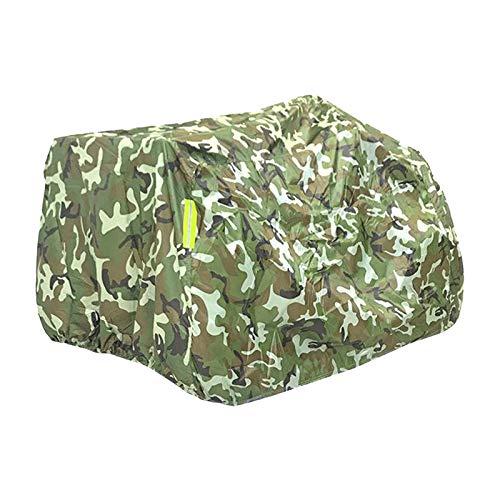 gazechimp Heavy Duty Materiale Ripstop M-XXXL Professionale Copertura ATV 4 Ruote Quad Copertura per Protegge ATV da Sole Nevischio Grandine - M camouflage