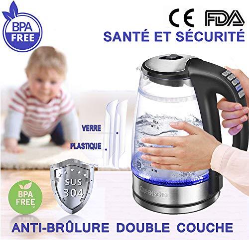 Bouilloire Electriques Thermostat Réglable...