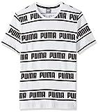 PUMA Amplified tee Camiseta, Hombre, White, 2XL