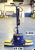 Rotapav Abrillantadora cristalizadora Profesional 2 Discos Ancho 49 cm