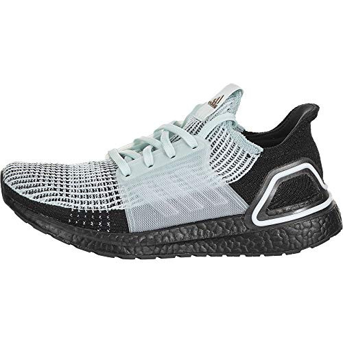 adidas Women's Ultraboost 19 w Running Shoe, Blue Tint/Core Black/Copper Met, 8.5 UK