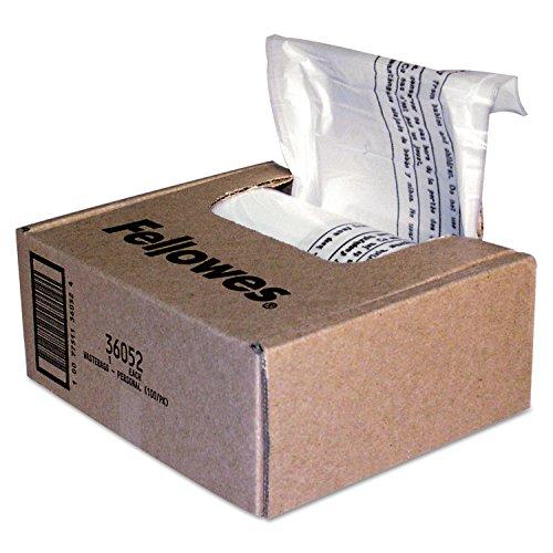 Fellowes 36052 Shredder Bags, 6-...