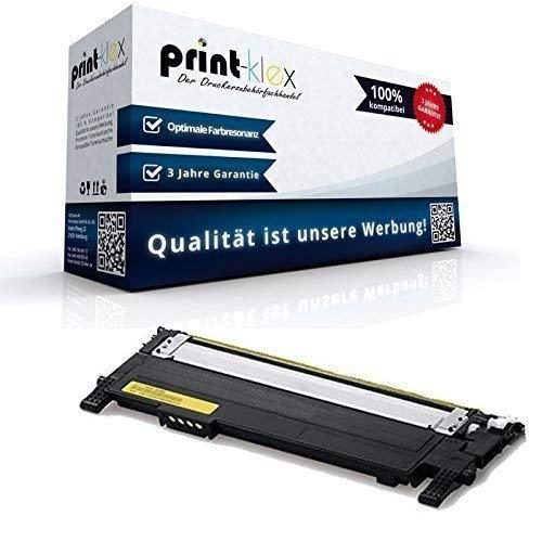 Print-Klex Tonerkartusche Yellow CLT-Y404S kompatibel für Samsung Xpress C430 W C430Series C 430 C430W C 480 C480 FN C 480 FN C480 FW C480FW C480 Series C 480 W C480 W C480W Gelb CLT 404 CLTY404 CLT-