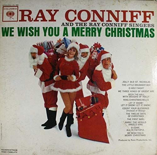 Ray Conniff and the Ray Conniff Singers: We Wish You a Merry Christmas - LP Vinyl Record Album