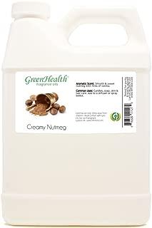 32 fl oz Creamy Nutmeg Fragrance Oil (Plastic Jug w/Cap) - GreenHealth