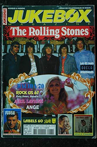 JUKEBOX 268 * 2009 * ROLLING STONES DALIDA Fac-Similé Disco Revue JOHNNY HALLYDAY