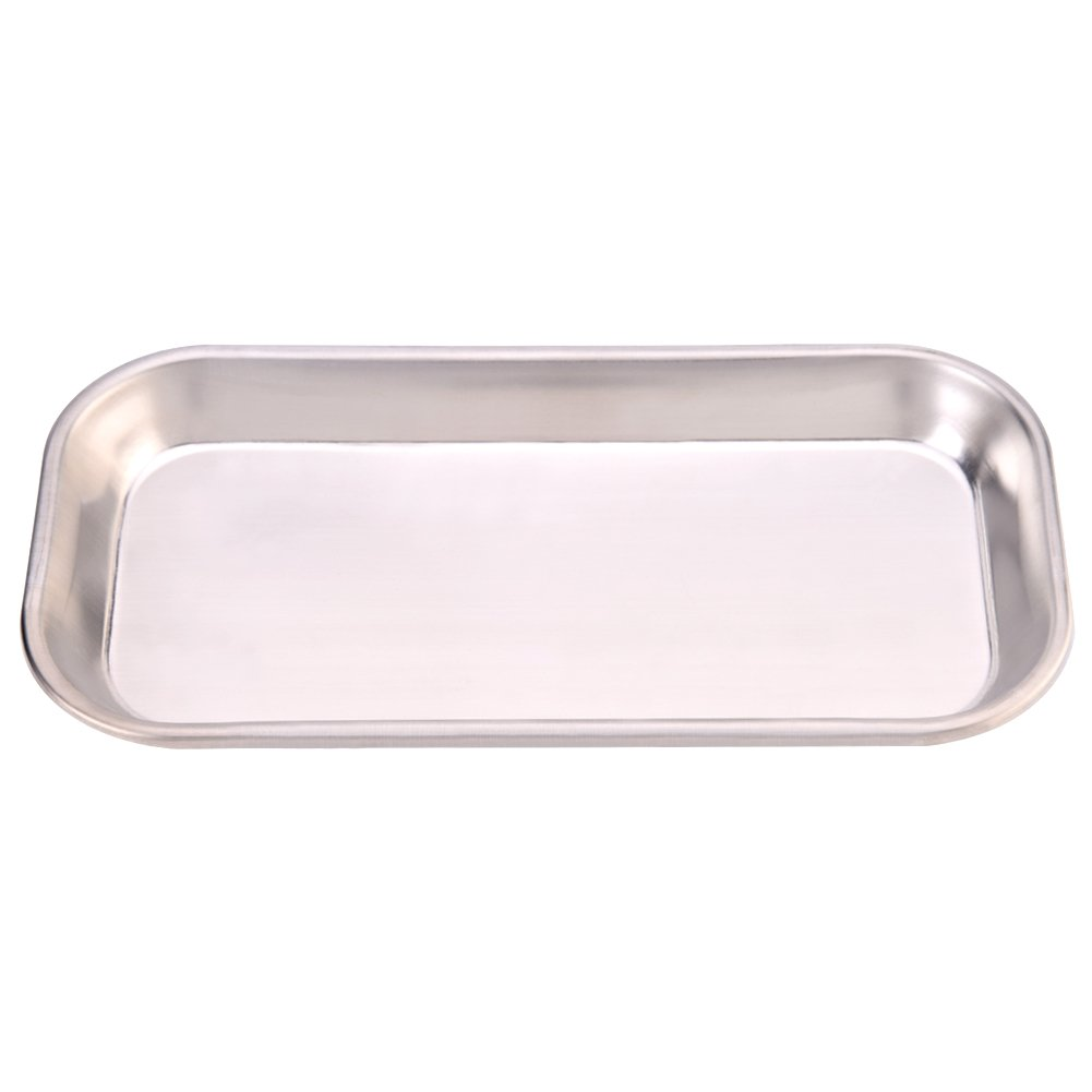 Dental Tray 201 Stainless Steel L Instrument All items in the store Medical Clinic Popular