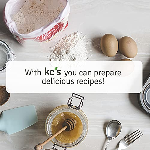 KC's Pantry Organic Quinoa Powder, 2 lb. Bag, 22 Servings — Organic, Non-GMO, Vegan, Gluten-Free, Keto & Paleo, Kosher — Perfect for use in Pancakes, Pizza Crusts, Breads, Baked Goods, Soup Thickener, Sauces