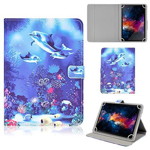 KATUMO Funda Universal Tablet 8 Pulgadas Carcasa para Samsung Galaxy Tab S2 8.0, Huawei Mediapad M3 Lite/T3 8.0, Lenovo Tab M8, Lenovo Tab M4 8.0