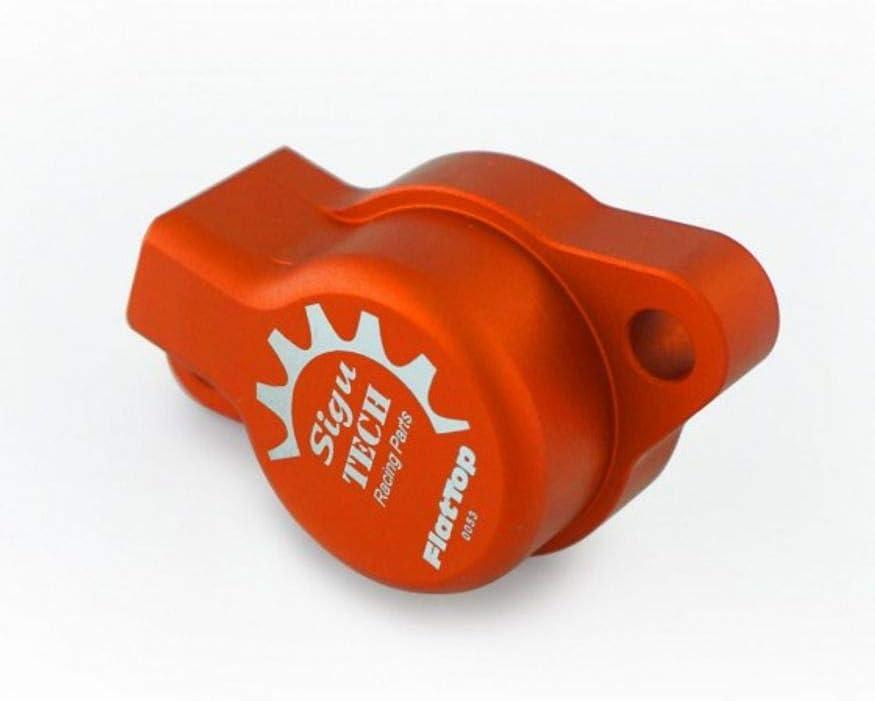 Sigutech Flattop Kupplungsnehmerzylinder Für Lc8 Rc8 Farbe Orange Auto