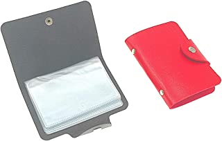 Credit Card Holder Wallet with 24 Plastic Card Slots