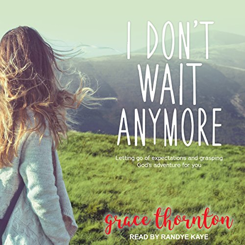 I Don't Wait Anymore audiobook cover art