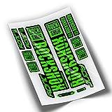 Pegatinas Horquilla ROCKSHOX Judy 2019 WP278 Verde Fluor