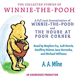 The Collected Stories of Winnie-the-Pooh                   Written by:                                                                                                                                 A. A. Milne                               Narrated by:                                                                                                                                 Stephen Fry                      Length: 4 hrs and 27 mins     15 ratings     Overall 4.9